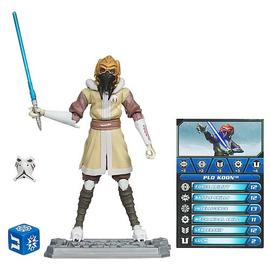 Star Wars - Clone Wars Plo Koon in Cold Gear Action Figure