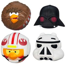 Star Wars - Angry Birds Foam Flyers Figures Wave 1
