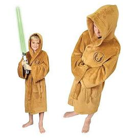 Star Wars - Jedi Fleece Bath Robe Kids Medium