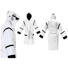 Star Wars - Stormtrooper Hooded White Cotton Bathrobe