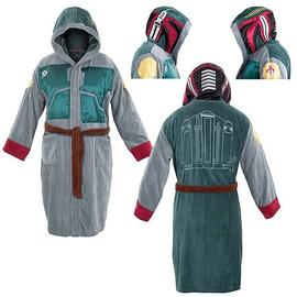 Star Wars - Boba Fett Hooded Cotton Bathrobe