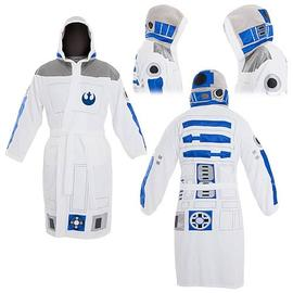 Star Wars - R2-D2 Hooded Cotton Bathrobe