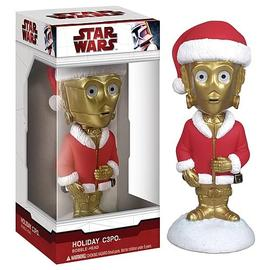 Star Wars - Holiday C-3PO Mini Bobble Head