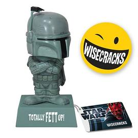 Star Wars - Wacky Wisecracks Boba Fett Totally Fett Up! Figure
