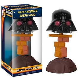 Star Wars - Angry Birds Darth Vader Piggy Bobble Head