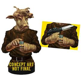 Star Wars - Ree Yees Deluxe Mini-Bust