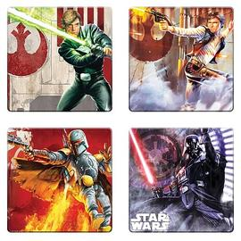 Star Wars - Unleashed Artwork Coaster 4-Pack