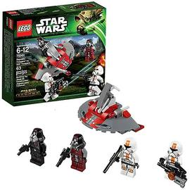 Star Wars - LEGO 75001 Republic Troopers vs Sith Troopers
