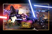 Star Wars: The Clone Wars - 27 x 40 Movie Poster - Style B