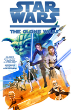 Star Wars: The Clone Wars - 43 x 62 Movie Poster - Bus Shelter Style B