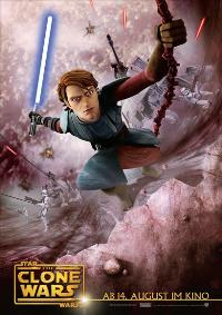 Star Wars: The Clone Wars - 11 x 17 Movie Poster - German Style A
