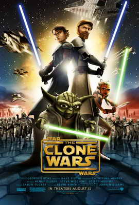 Star Wars: The Clone Wars - 11 x 17 Movie Poster - Style A
