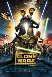Star Wars: The Clone Wars - 43 x 62 Movie Poster - Bus Shelter Style A