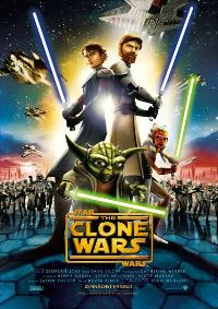 Star Wars: The Clone Wars - 11 x 17 Movie Poster - German Style C