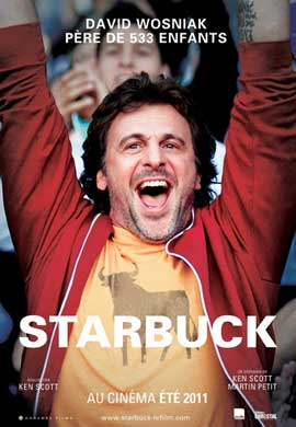 Starbuck - 27 x 40 Movie Poster - Canadian Style A