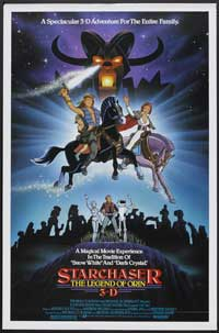 Starchaser: The Legend of Orin - 11 x 17 Movie Poster - Style B