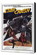 Star Crash - 27 x 40 Movie Poster - Style A - Museum Wrapped Canvas