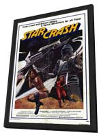 Star Crash - 11 x 17 Movie Poster - Style A - in Deluxe Wood Frame