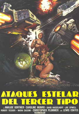 Star Crash - 27 x 40 Movie Poster - Spanish Style A