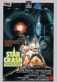 Star Crash - 11 x 17 Movie Poster - German Style A