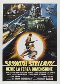 Star Crash - 11 x 17 Movie Poster - Italian Style B