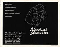 Stardust Memories - 22 x 28 Movie Poster - Half Sheet Style A