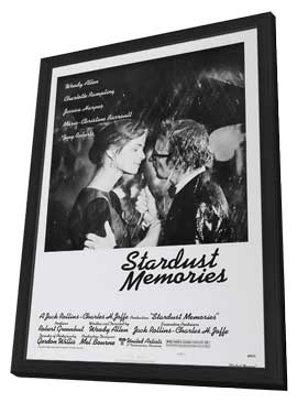 Stardust Memories - 27 x 40 Movie Poster - Style A - in Deluxe Wood Frame