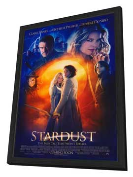 Stardust - 27 x 40 Movie Poster - Style A - in Deluxe Wood Frame