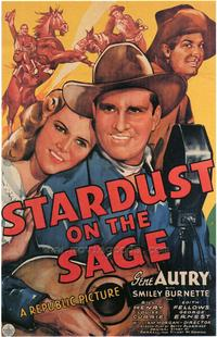 Stardust on the Sage - 27 x 40 Movie Poster - Style A
