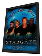 Stargate SG-1 - 11 x 17 TV Poster - Style C - in Deluxe Wood Frame
