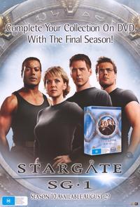 Stargate SG-1 - 11 x 17 TV Poster - Style D