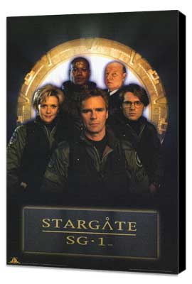 Stargate SG-1 - 11 x 17 TV Poster - Style B - Museum Wrapped Canvas