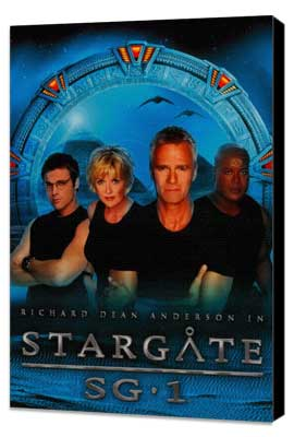 Stargate SG-1 - 11 x 17 TV Poster - Style C - Museum Wrapped Canvas