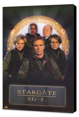 Stargate SG-1 - 27 x 40 TV Poster - Style B - Museum Wrapped Canvas
