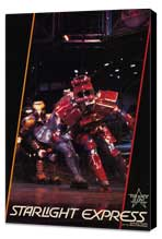 Starlight Express (Broadway) - 11 x 17 Poster - Style A - Museum Wrapped Canvas