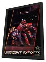 Starlight Express (Broadway) - 11 x 17 Poster - Style A - in Deluxe Wood Frame