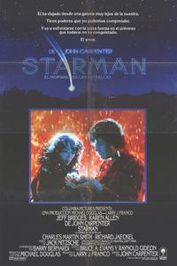 Starman - 11 x 17 Movie Poster - Spanish Style A