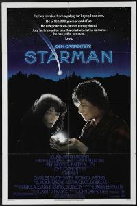 Starman - 43 x 62 Movie Poster - Bus Shelter Style A