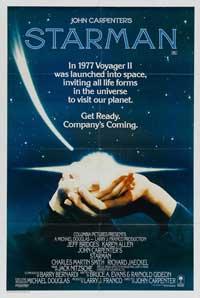 Starman - 11 x 17 Movie Poster - Style E
