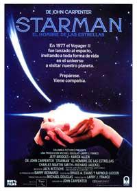 Starman - 11 x 17 Movie Poster - Spanish Style B