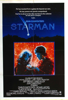 Starman - 27 x 40 Movie Poster - Style E
