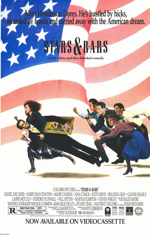 Stars and Bars Movie Posters From Movie Poster Shop