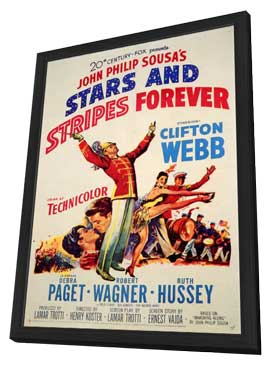 Stars and Stripes Forever - 11 x 17 Movie Poster - Style A - in Deluxe Wood Frame