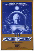 Starship Invasions - 11 x 17 Movie Poster - Style A