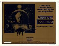 Starship Invasions - 11 x 14 Movie Poster - Style A