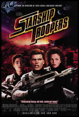 Starship Troopers - 27 x 40 Movie Poster - Style A