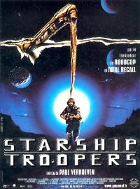 Starship Troopers - 27 x 40 Movie Poster - French Style A
