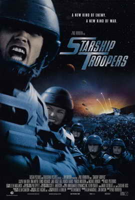 Starship Troopers - 27 x 40 Movie Poster - Style D