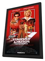 Starsky & Hutch - 27 x 40 Movie Poster - Style A - in Deluxe Wood Frame