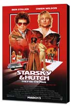 Starsky & Hutch - 27 x 40 Movie Poster - Style A - Museum Wrapped Canvas
